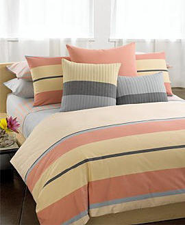 Calvin Klein Veracruz Stripe/Symmetrical Stripe Sheeting Collection