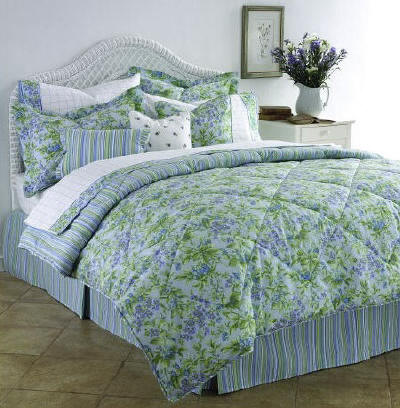 Laura Ashley Bramble Periwinkle Collection