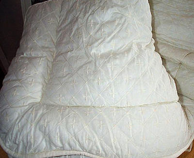 Laura Ashley Chantilly Embroidered Comforter