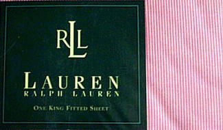Ralph Lauren Narrow Stripe Pink