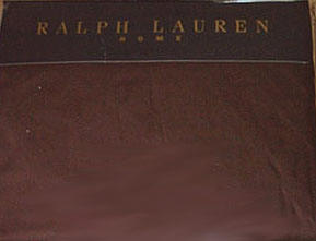 Ralph Lauren Estate Sheet - Burgundy