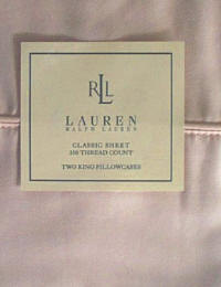 Ralph Lauren Classic Sheet - Blush